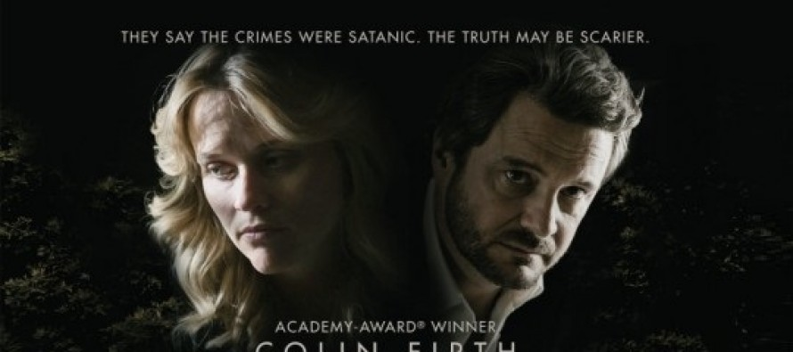 Colin Firth e Reese Witherspoon estampam PÔSTER inédito do drama DEVIL'S KNOT