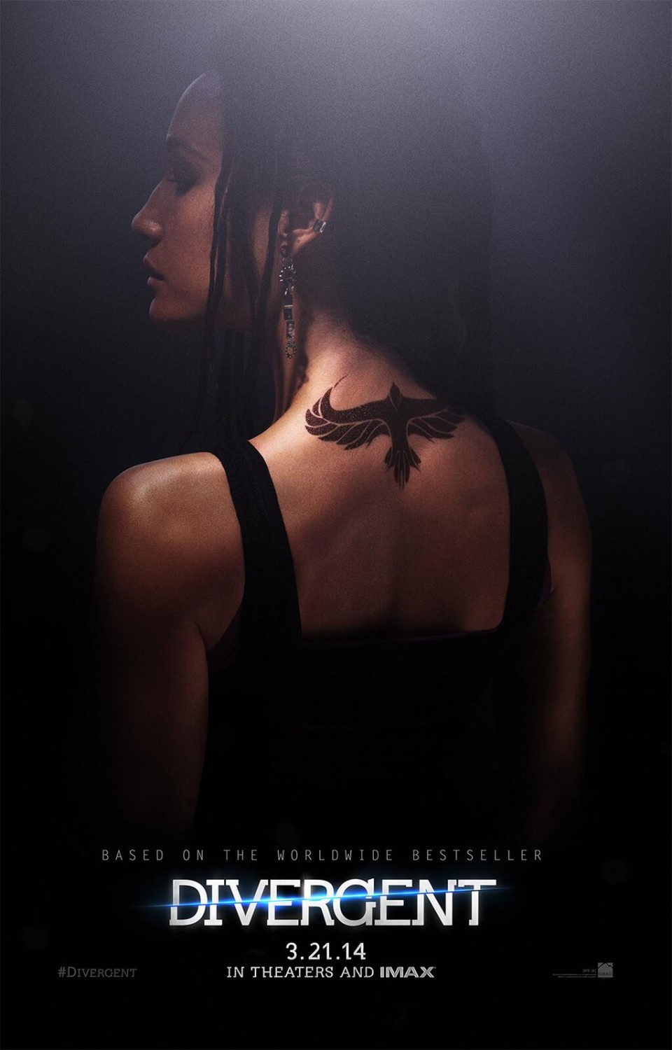 Divergent-Official Poster Banner PROMO POSTER XLG-05NOVEMBRO2013