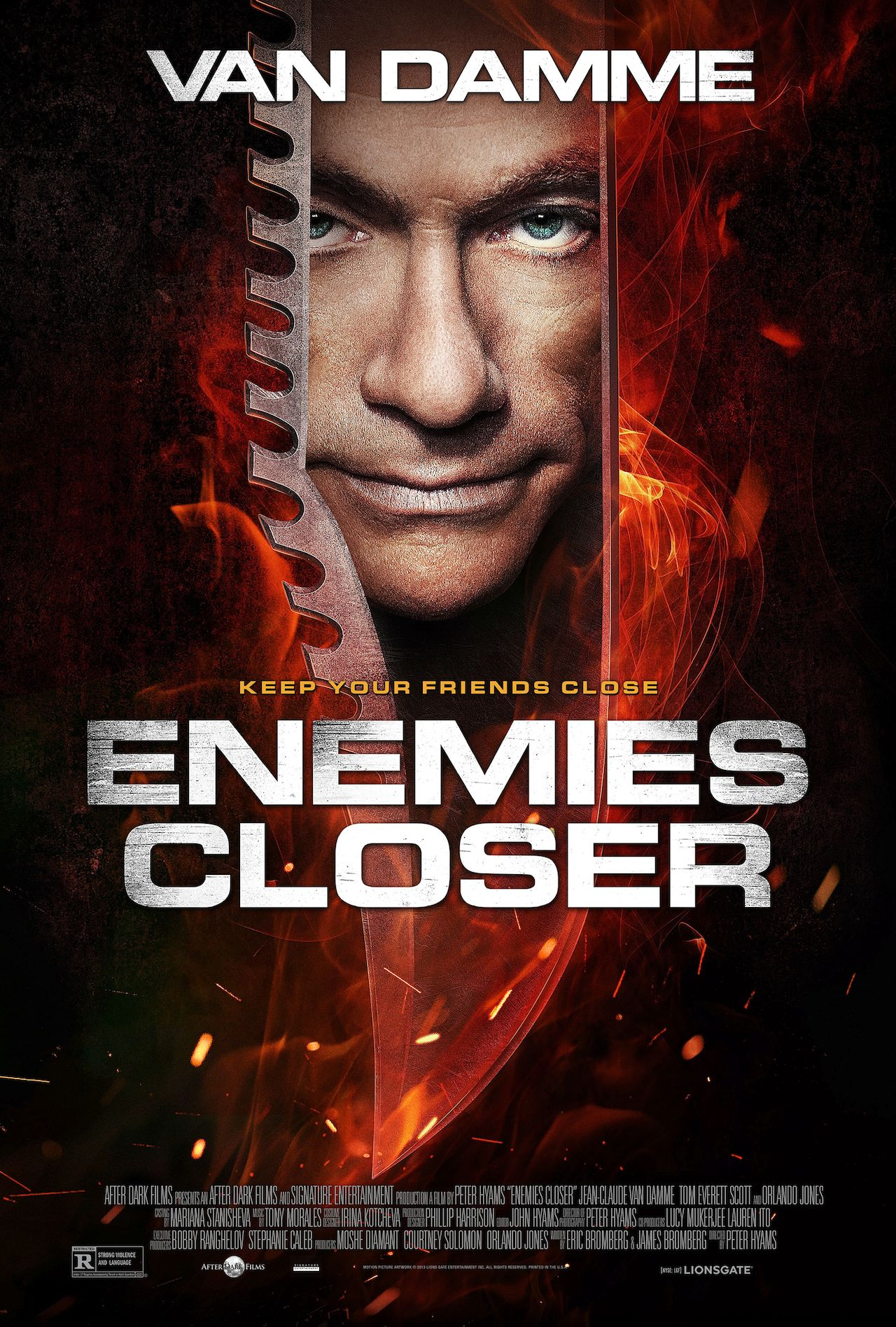 Enemies Closer-Official Poster Banner PROMO POSTER XXLG-25NOVEMBRO2013
