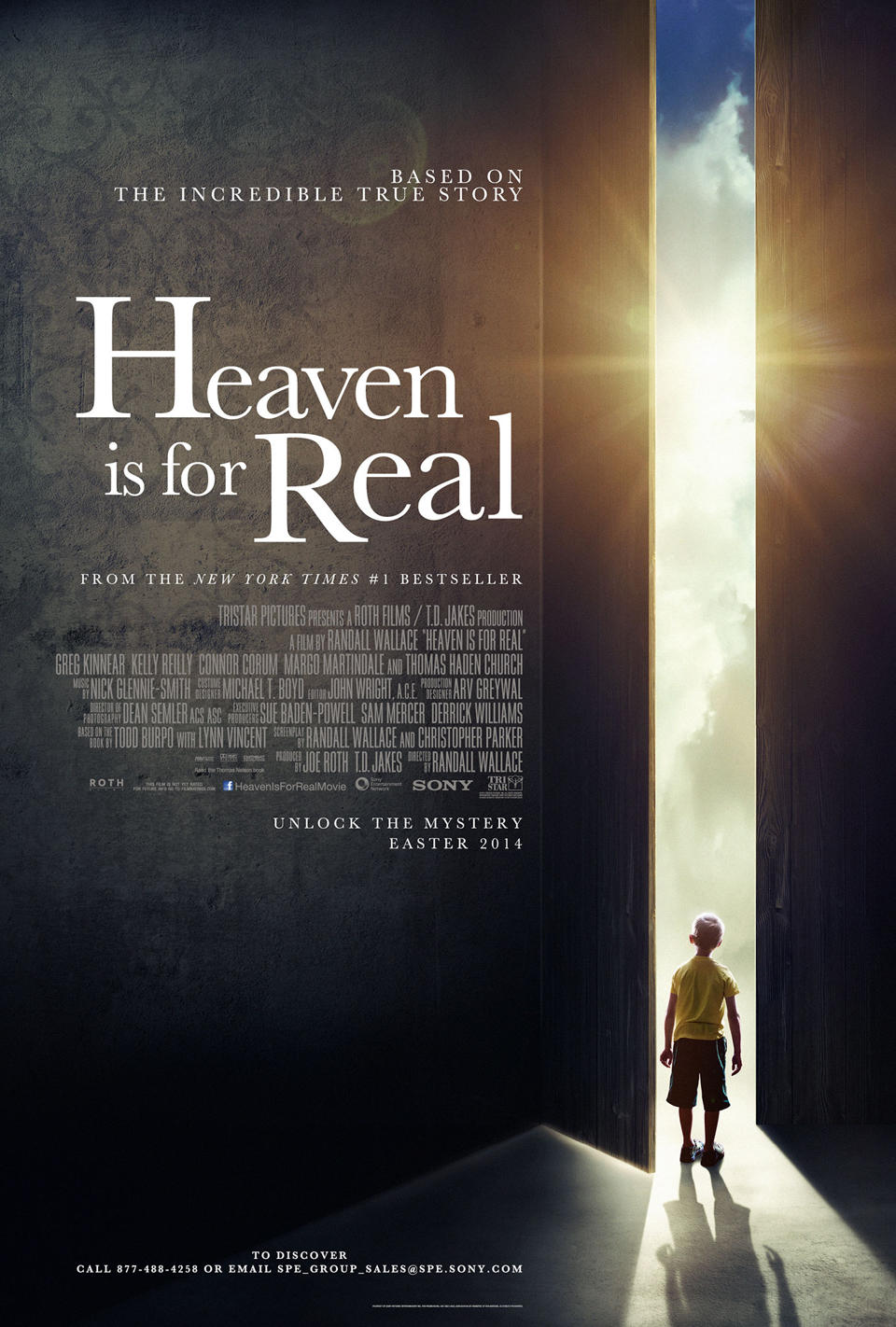 Heaven Is For Real-Official Poster Banner PROMO POSTER-19NOVEMBRO2013