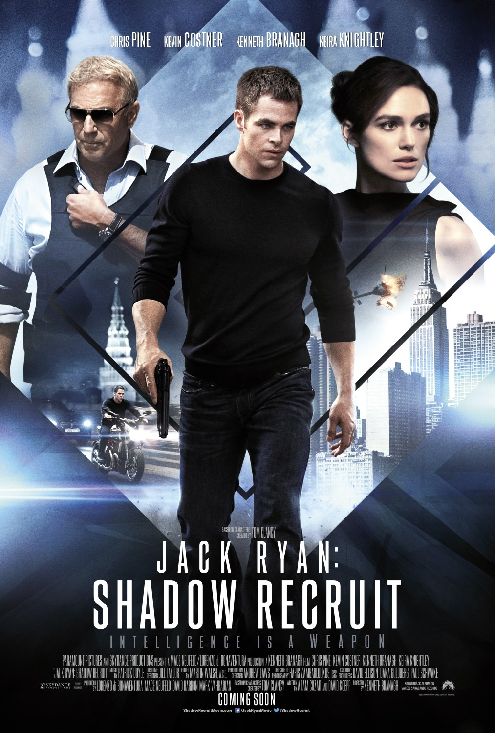 Jack Ryan Shadow Recruit-Official Poster Banner PROMO POSTER-29NOVEMBRO2013