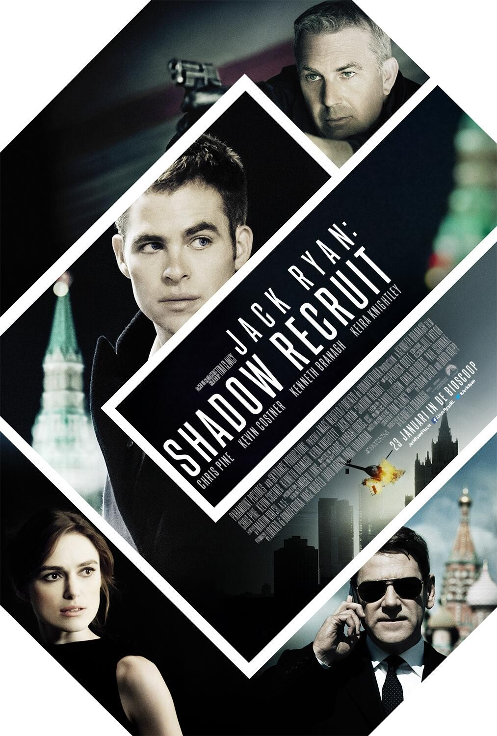 Jack Ryan Shadow Recruit-Official Poster Banner PROMO POSTER XLG-05NOVEMBRO2013