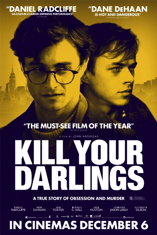 Kill Your Darlings-Official Poster Banner PROMO POSTER-08NOVEMBRO2013