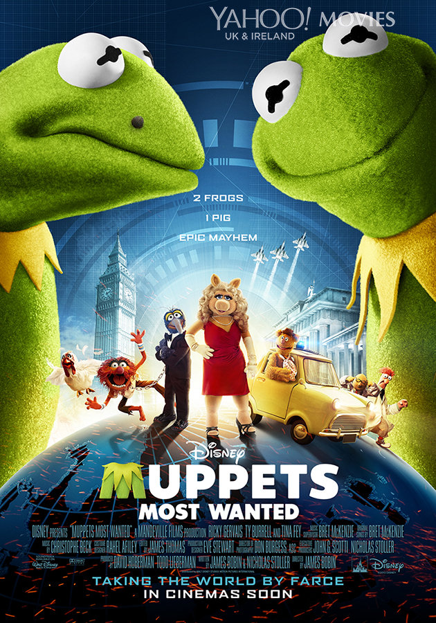 MUPPETS MOST WANTED-Official Poster Banner PROMO POSTER-26NOVEMBRO2013
