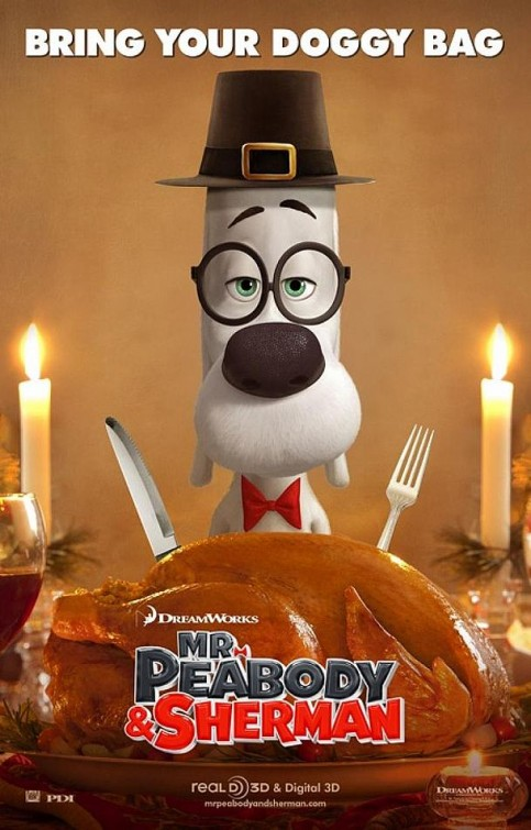 Mr. Peabody & Sherman-Official Poster Banner PROMO POSTER-28NOVEMBRO2013