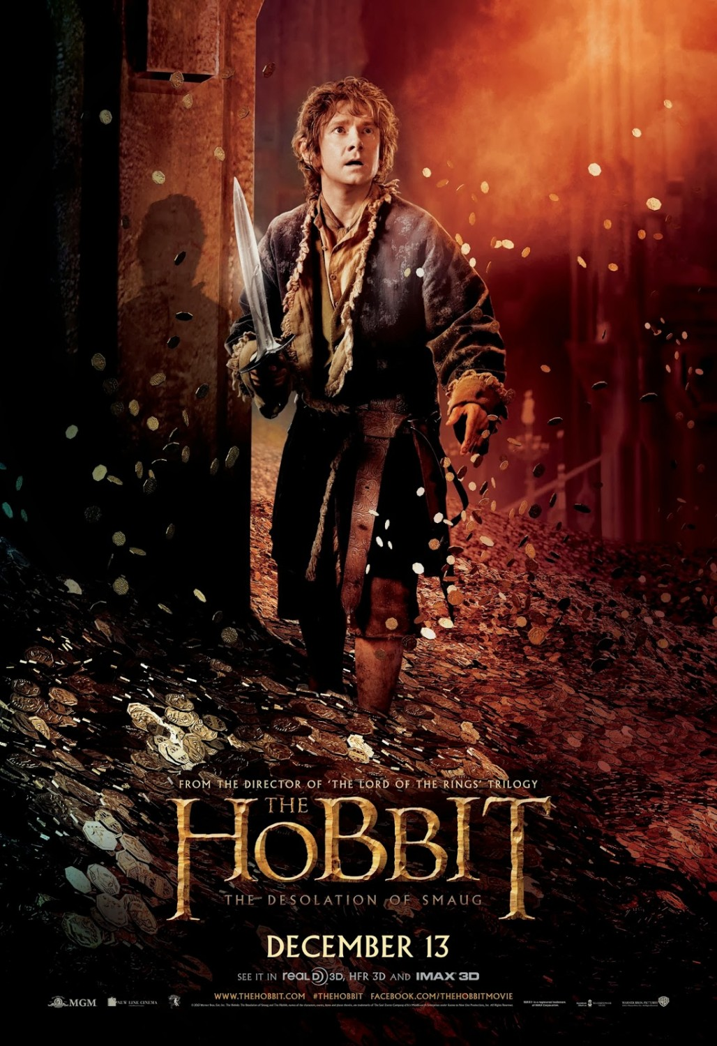 THE HOBBIT THE DESOLATION OF SMAUG-Official Poster Banner PROMO POSTER-07NOVEMBRO2013-01