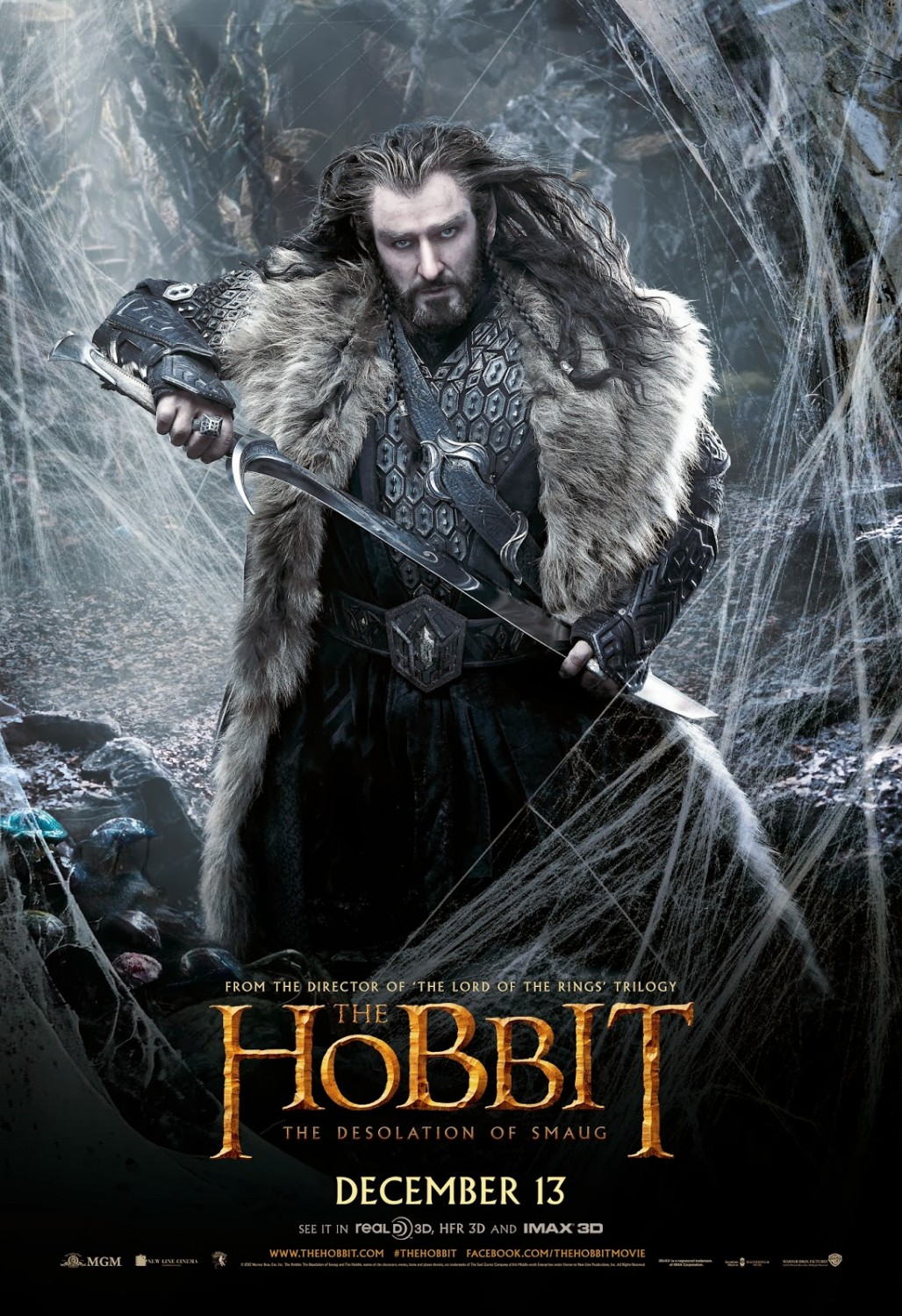 THE HOBBIT THE DESOLATION OF SMAUG-Official Poster Banner PROMO POSTER-07NOVEMBRO2013-03