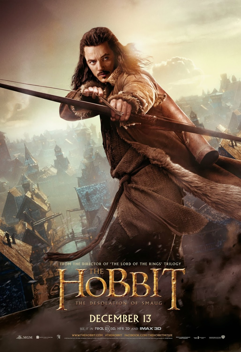 THE HOBBIT THE DESOLATION OF SMAUG-Official Poster Banner PROMO POSTER-07NOVEMBRO2013-04