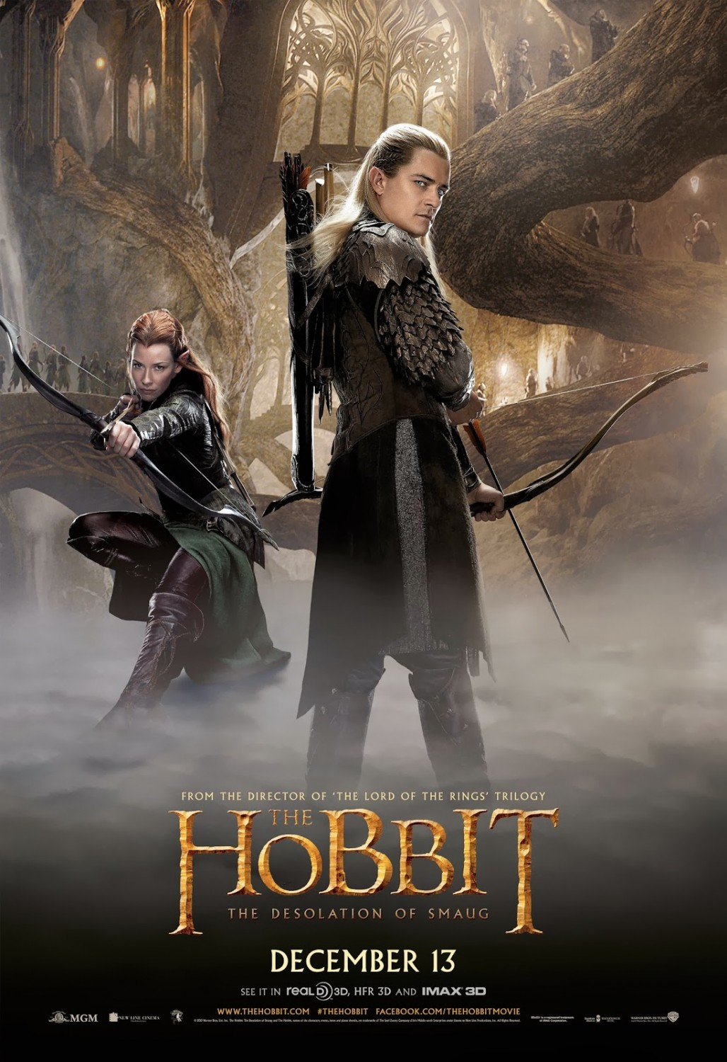 THE HOBBIT THE DESOLATION OF SMAUG-Official Poster Banner PROMO POSTER-07NOVEMBRO2013-05
