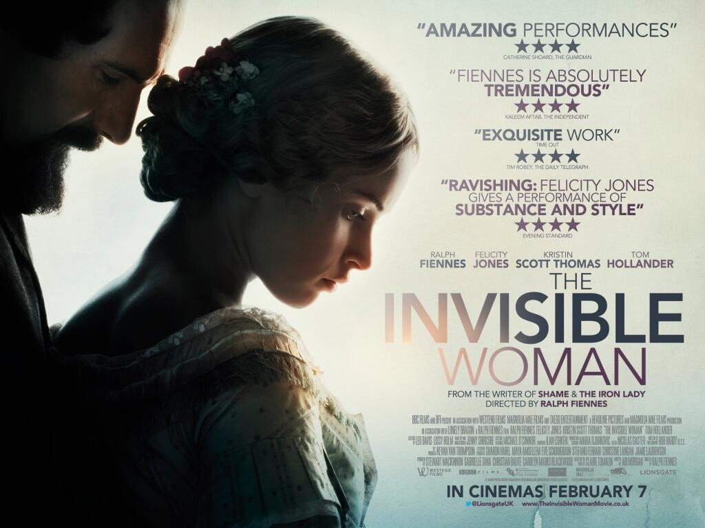 THE INVISIBLE WOMAN-Official Poster Banner PROMO BANNER XLG-21NOVEMBRO2013