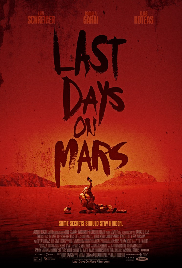 THE LAST DAYS ON MARS-Official Poster Banner PROMO POSTER-04NOVEMBRO2013-02