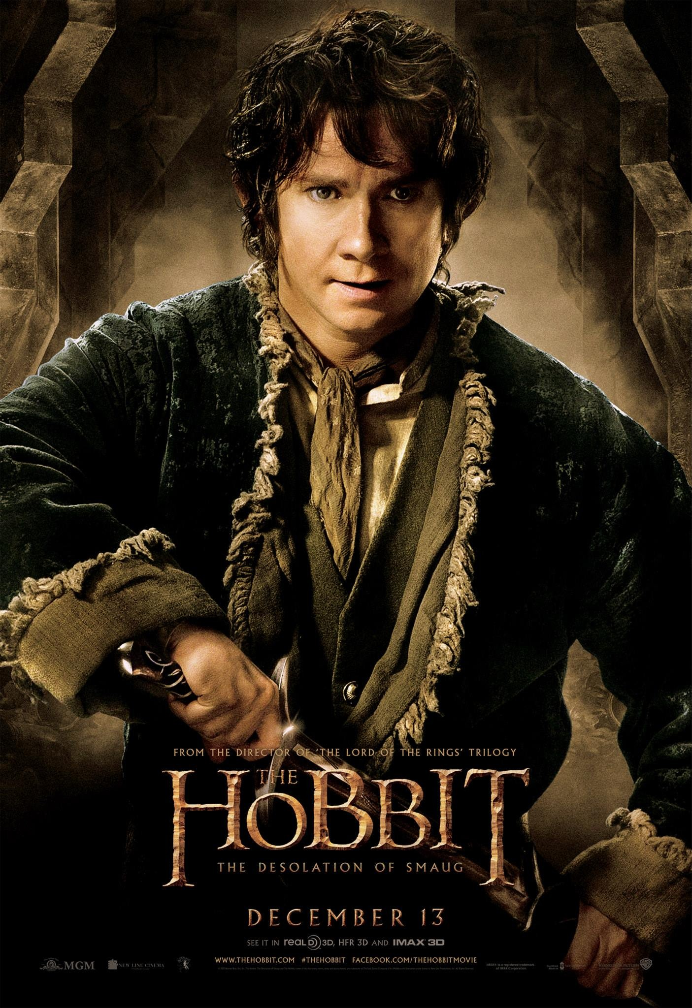 The Hobbit The Desolation of Smaug-Official Poster Banner PROMO POSTER XXLG-04NOVEMBRO2013-01