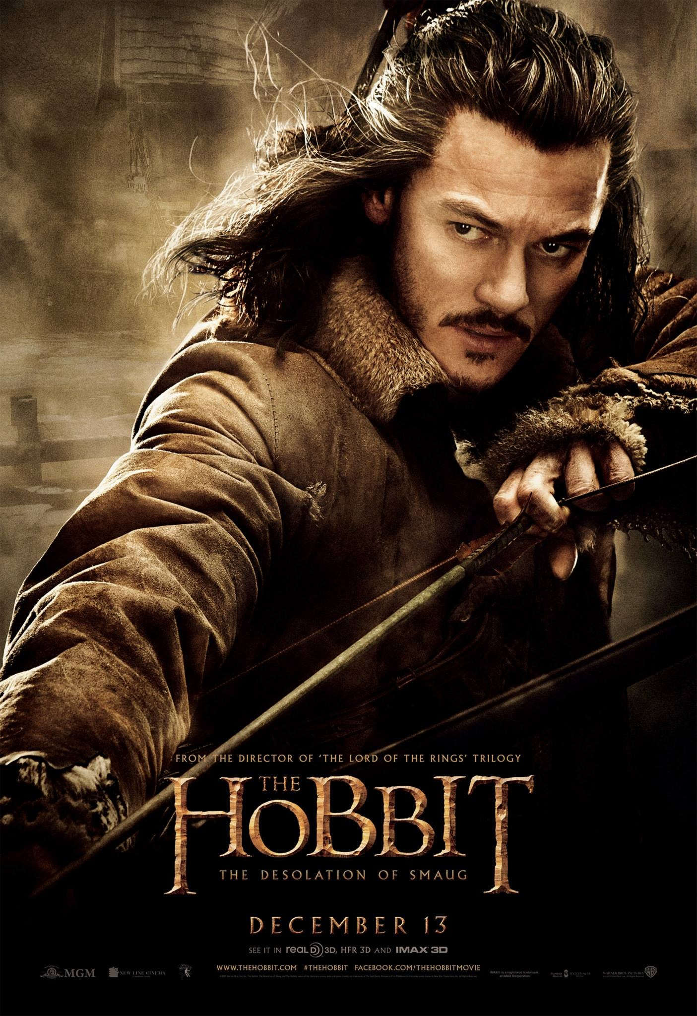 The Hobbit The Desolation of Smaug-Official Poster Banner PROMO POSTER XXLG-04NOVEMBRO2013-02
