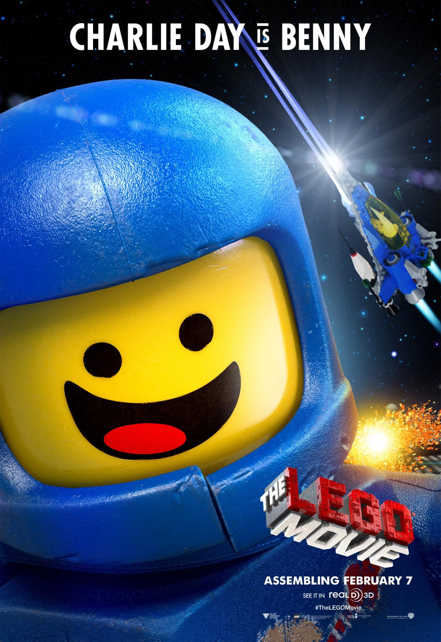 The Lego Movie-Official Poster Banner PROMO POSTER XLG-12NOVEMBRO2013-02