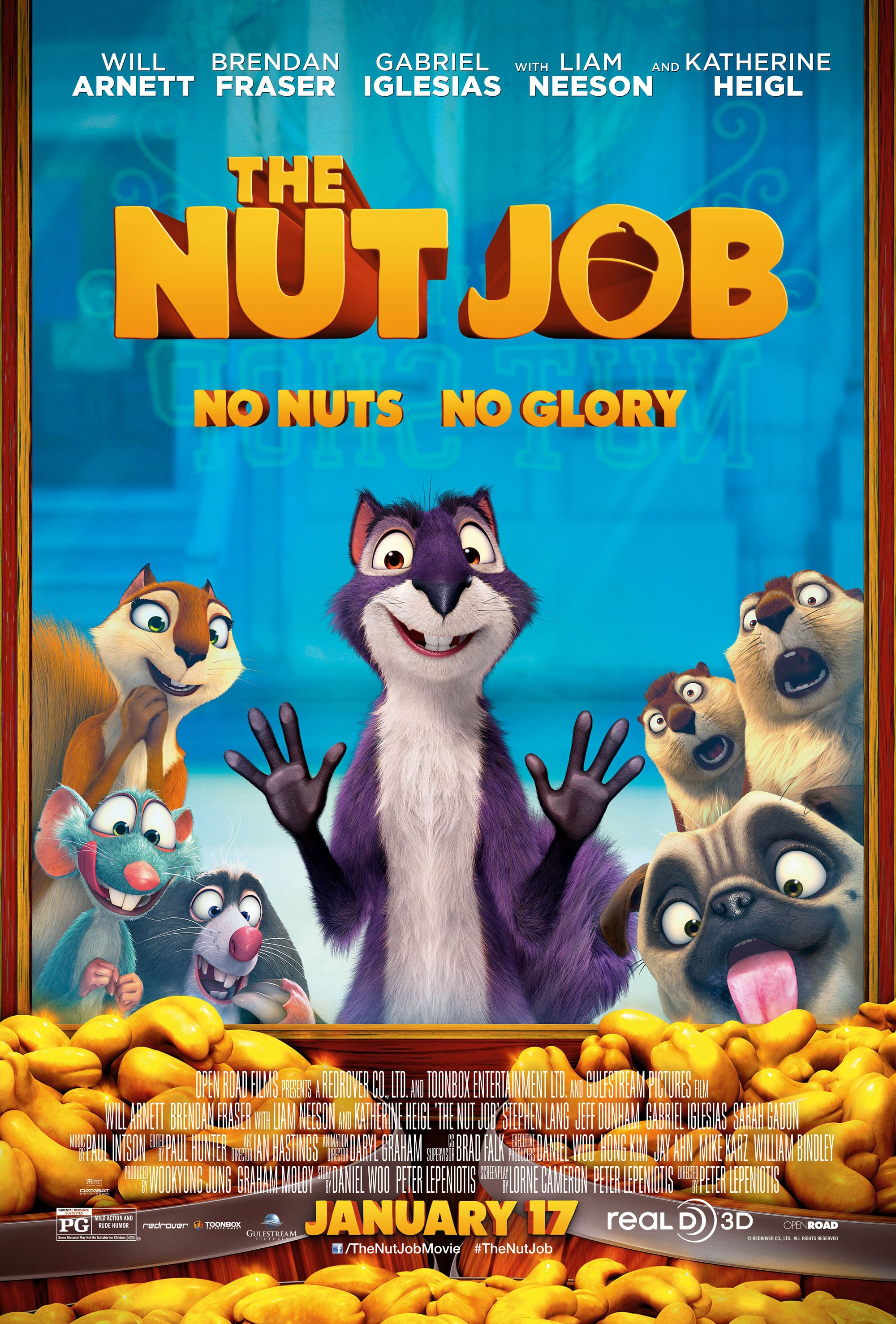 The Nut Job-Official Poster Banner PROMO POSTER XXLG-19NOVEMBRO2013