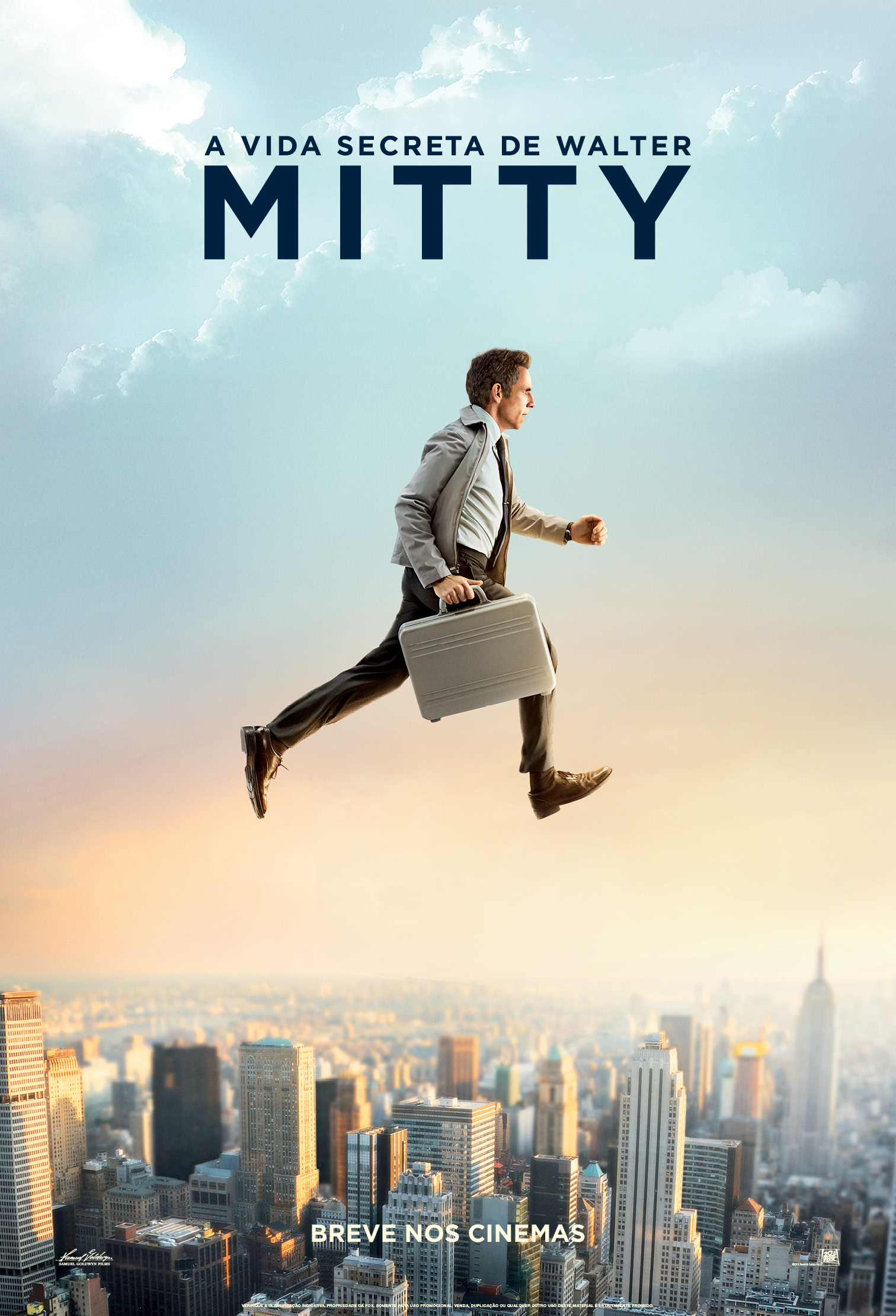 The Secret Life of Walter Mitty-Official Poster Banner PROMO NACIONAL XXLG-18NOVEMBRO2013