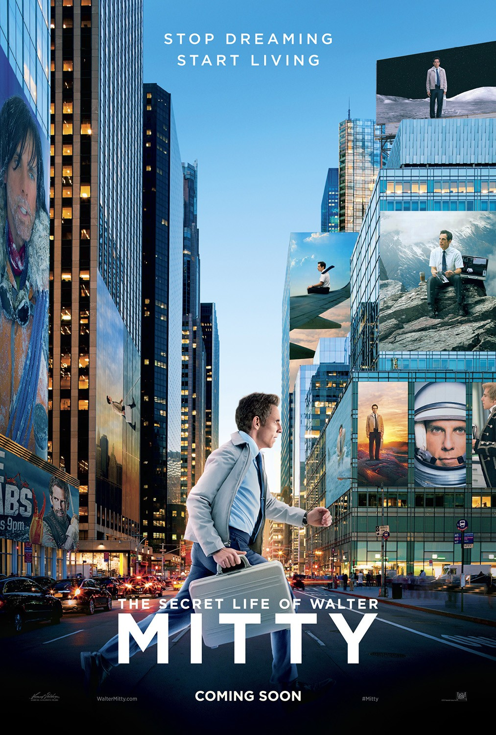 The Secret Life of Walter Mitty-Official Poster Banner PROMO POSTER XLG-21NOVEMBRO2013