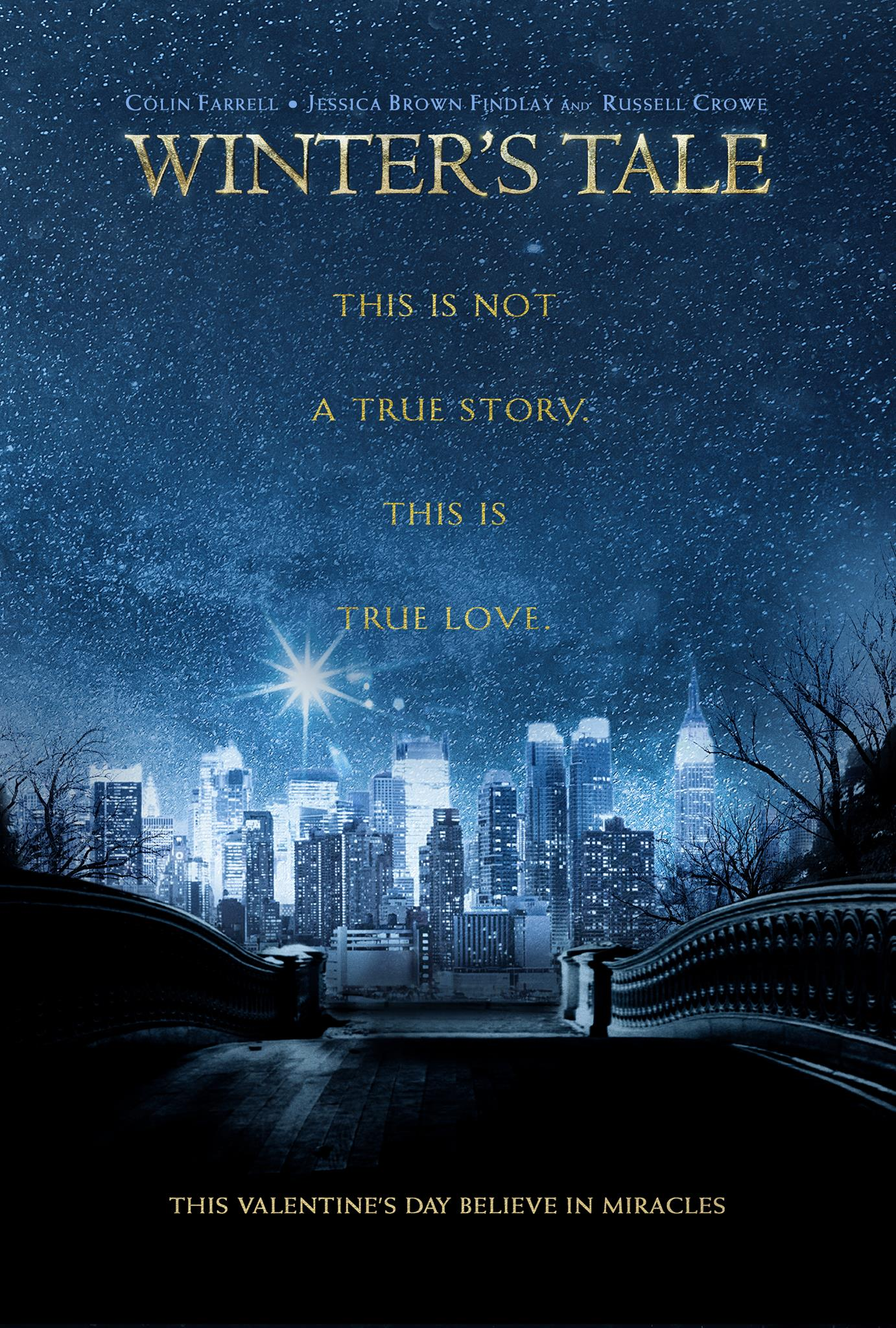 WINTER'S TALE-Offciail Poster Banner PROMO POSTER-08NOVEMBRO2013