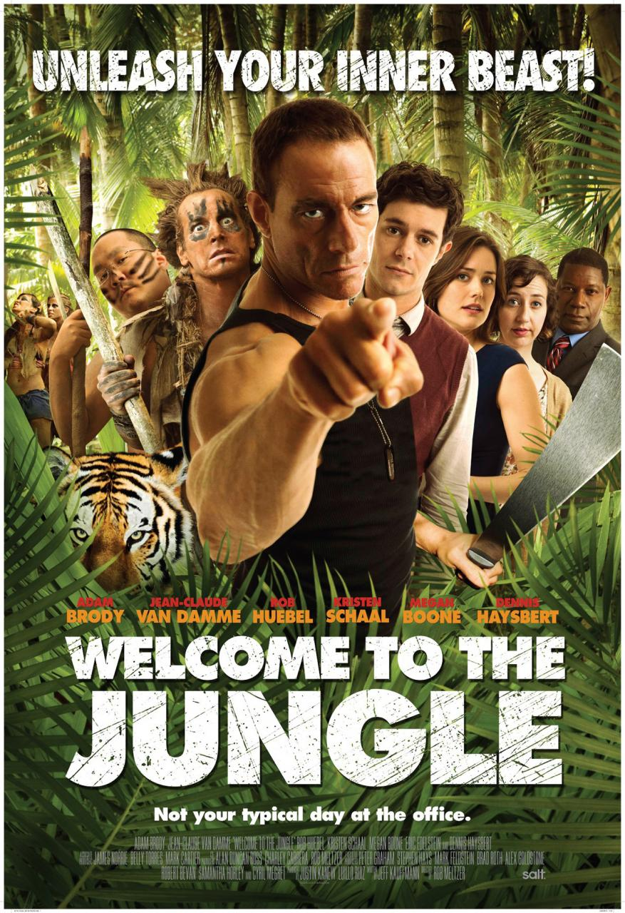 Welcome To The Jungle-Official Poster Banner PROMO POSTER-26NOVEMBRO2013
