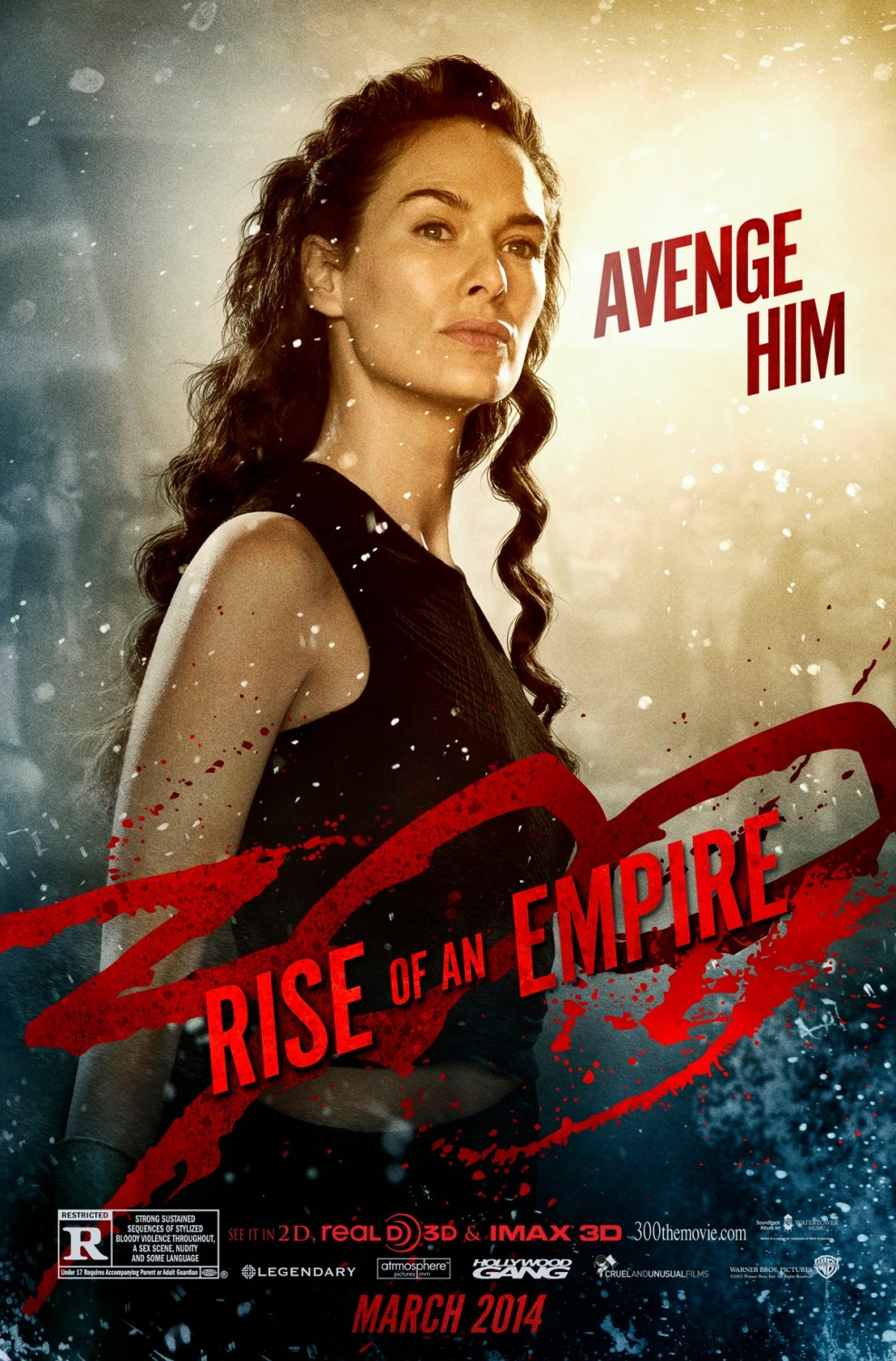 300 Rise of an Empire-Official Poster Banner PROMO POSTER XLG-16DEZEMBRO2013