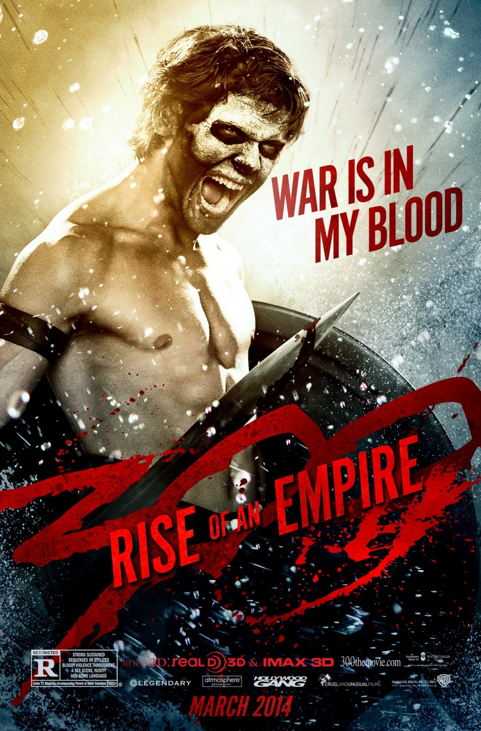 300 Rise of an Empire-Official Poster Banner PROMO XLG-18DEZEMBRO2013