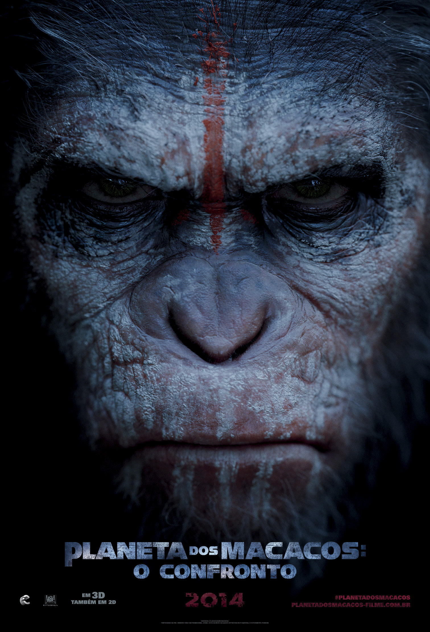 DAWN OF THE PLANET OF THE APES-Official Poster Banner PROMO NACIONAL-21DEZEMBRO2013