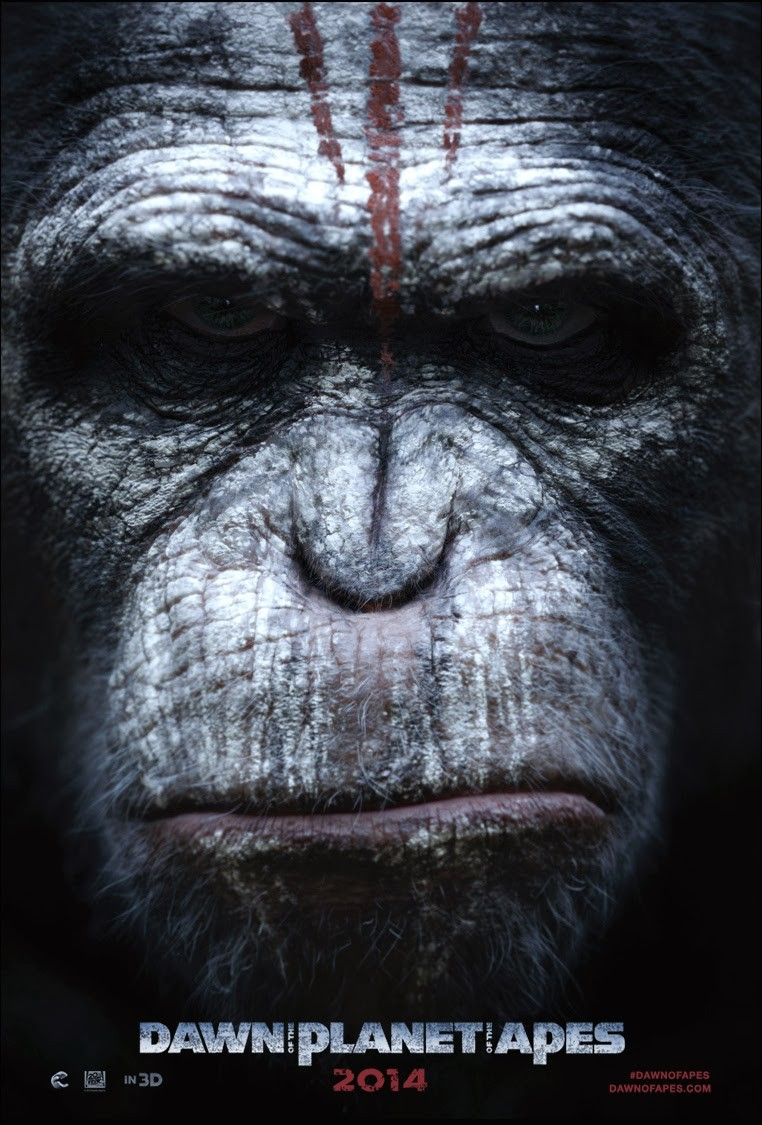 Dawn of the Planet of the Apes-Official Poster Banner PROMO POSTER XLG-13DEZEMBRO2013-01