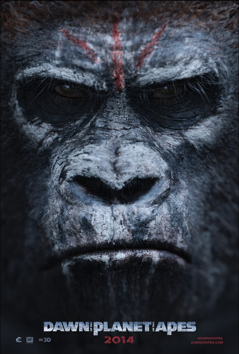 Dawn of the Planet of the Apes-Official Poster Banner PROMO POSTER XLG-13DEZEMBRO2013-02