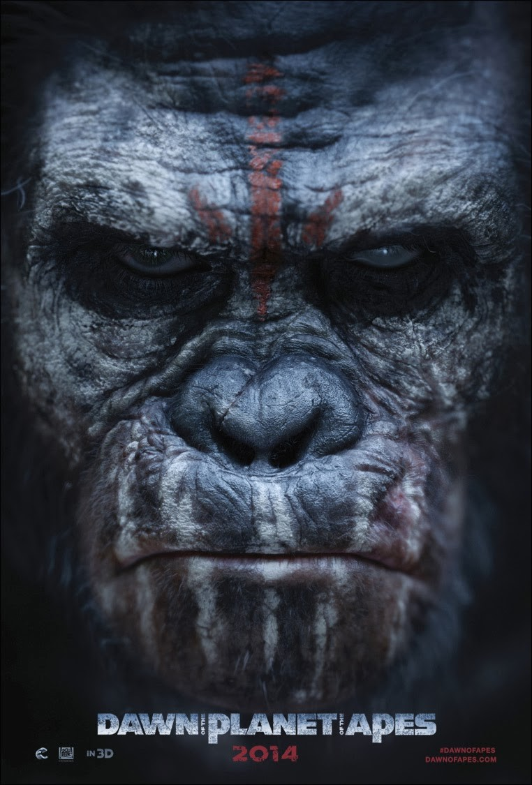 Dawn of the Planet of the Apes-Official Poster Banner PROMO POSTER XLG-13DEZEMBRO2013-03