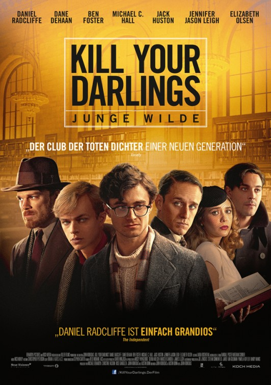 Kill Your Darlings-Official Poster Banner PROMO LOW POSTER-19DEZEMBRO2013