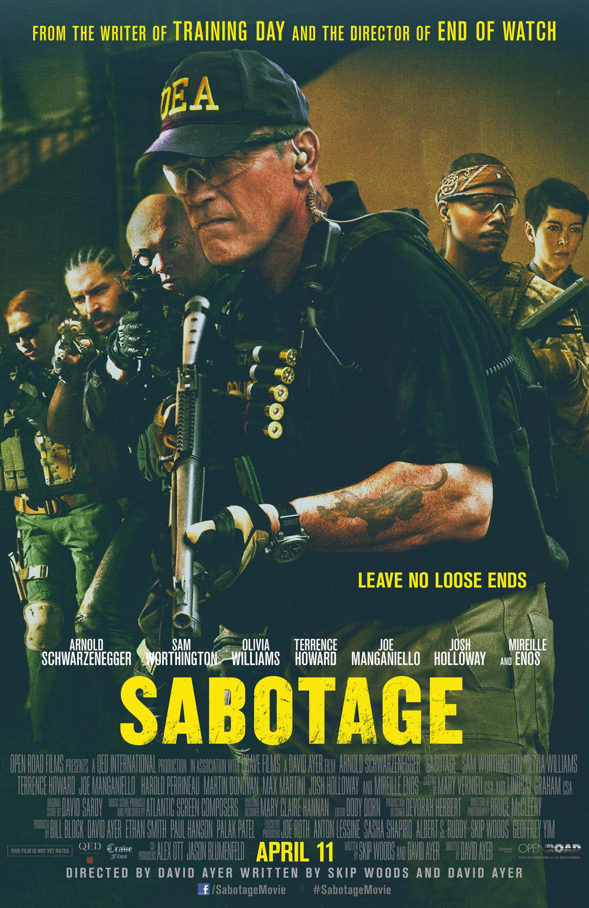 Sabotage-Official Poster Banner PROMO POSTER XXLG-20DEZEMBRO2013