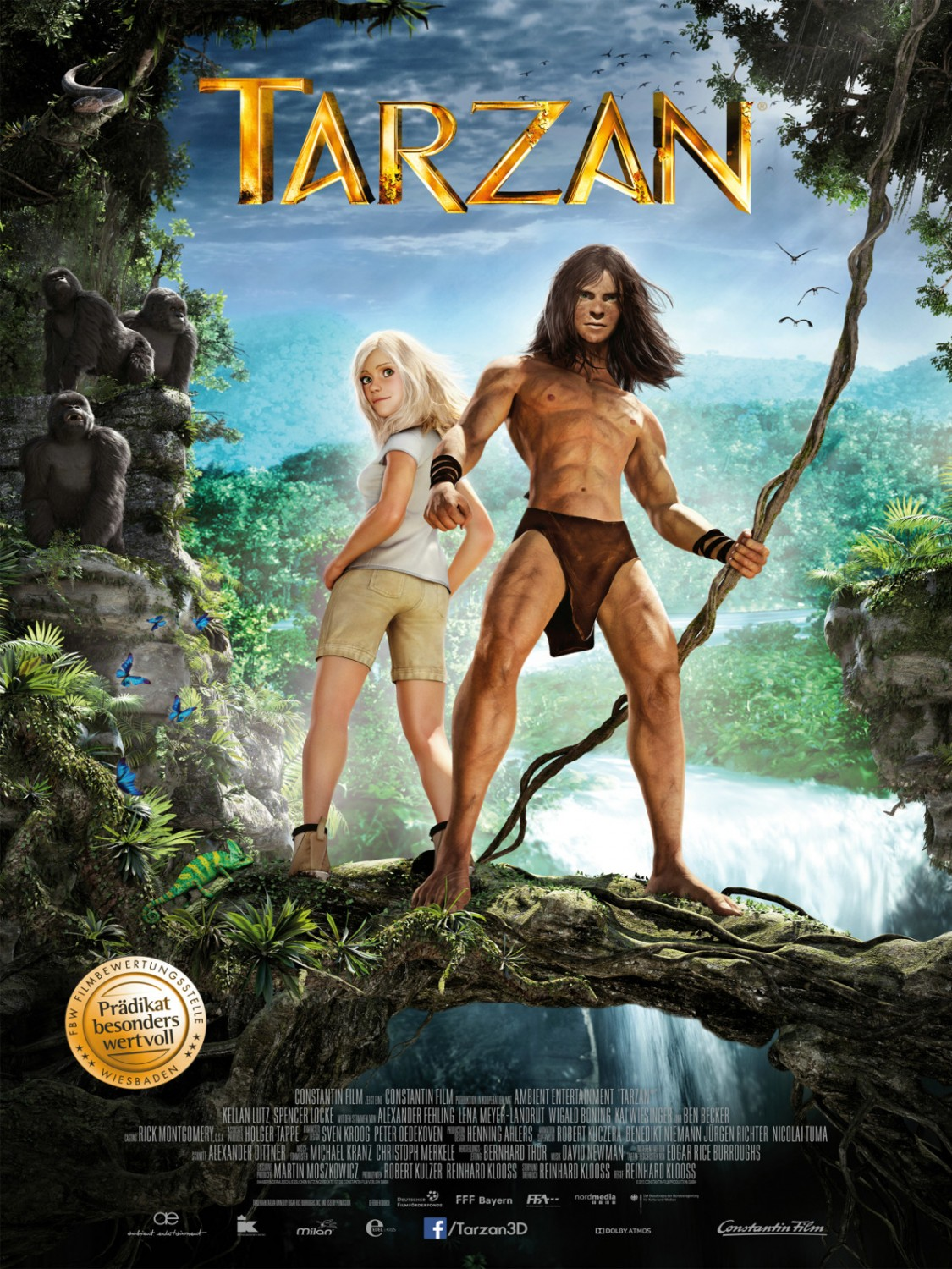 TARZAN-Official Poster Banner PROMO POSTER XLG-26DEZEMBRO2013