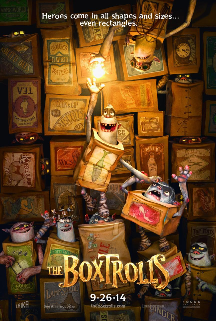THE BOXTROLLS-Official Poster Banner PROMO POSTER-02DEZEMBRO2013