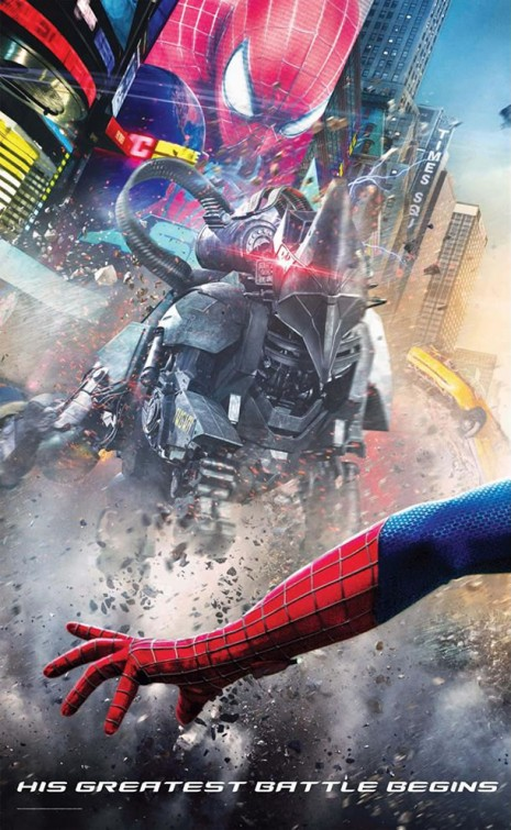 The Amazing Spider-Man 2-Official Poster Banner PROMO POSTER-04EDEZEMBRO2013-03
