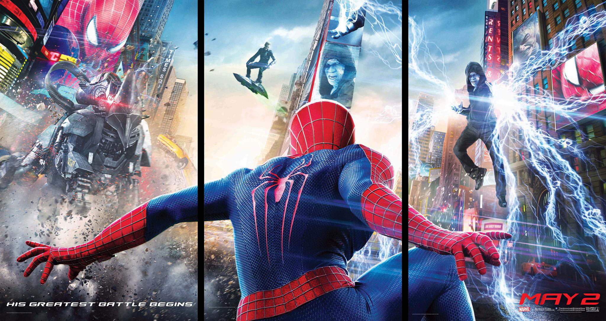 The Amazing Spider-Man 2-Official Poster Banner PROMO POSTER-04EDEZEMBRO2013-04-04