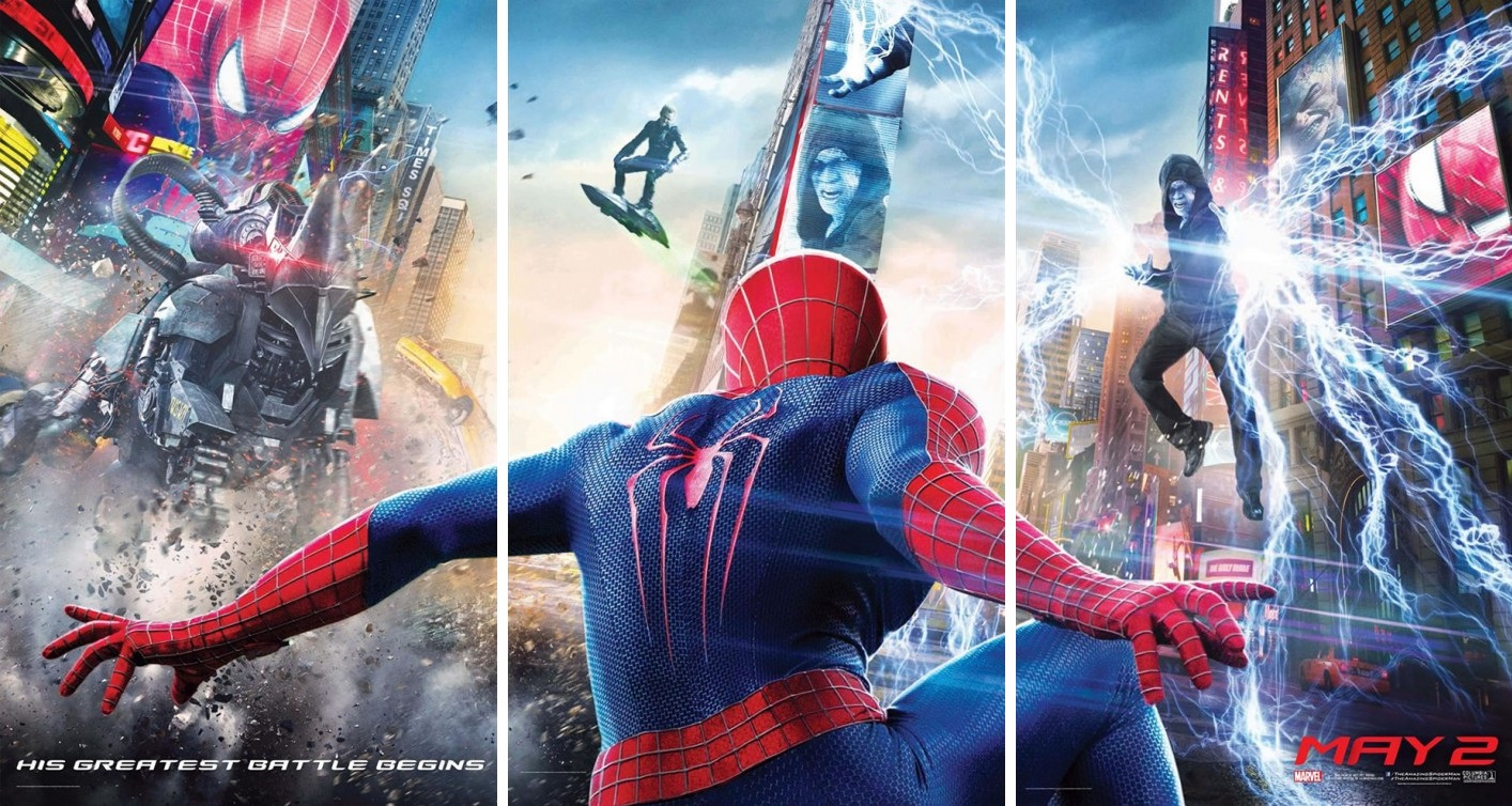 The Amazing Spider-Man 2-Official Poster Banner PROMO POSTER-04EDEZEMBRO2013-04