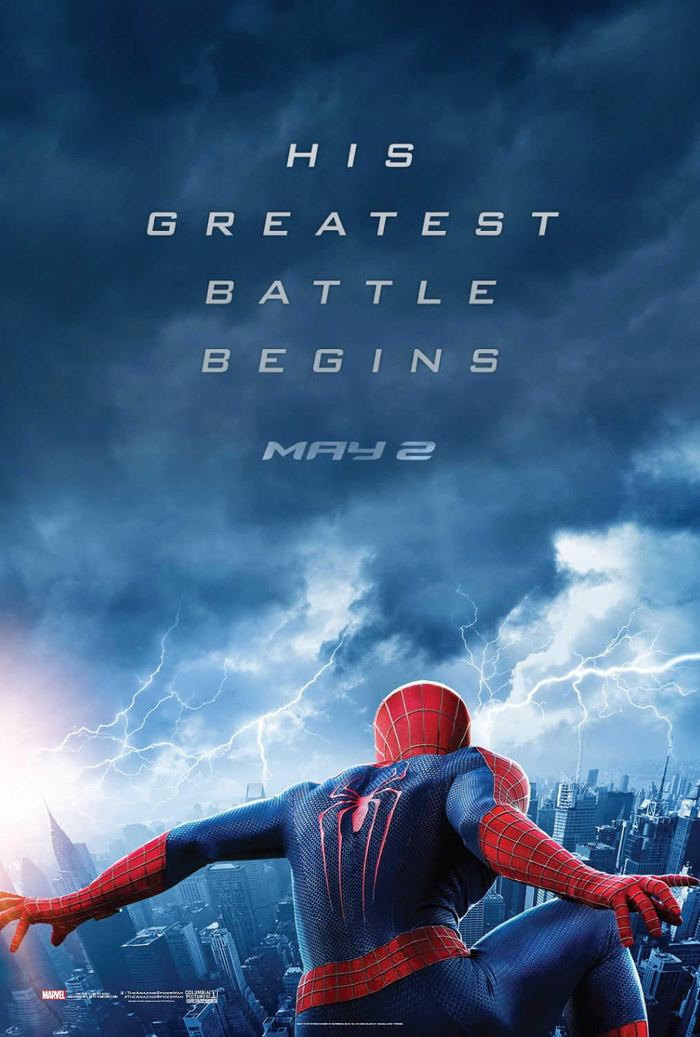 The Amazing Spider-Man 2-Official Poster Banner PROMO POSTER XLG-18DEZEMBRO2013
