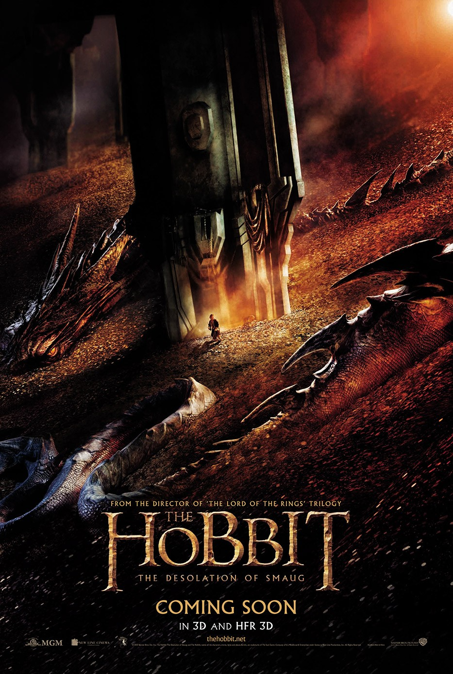 The Hobbit The Desolation of Smaug-Official Poster Banner PROMO POSTER XLG-16DEZEMBRO2013-01