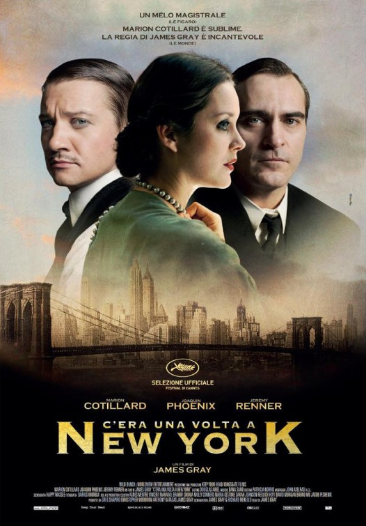 The Immigrant-Official Poster Banner PROMO INTERNATIONAL-12DEZEMBRO2013