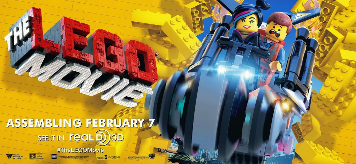 The Lego Movie-Official Poster Banner PROMO BANNER XLG-13NOVEMBRO2013-01