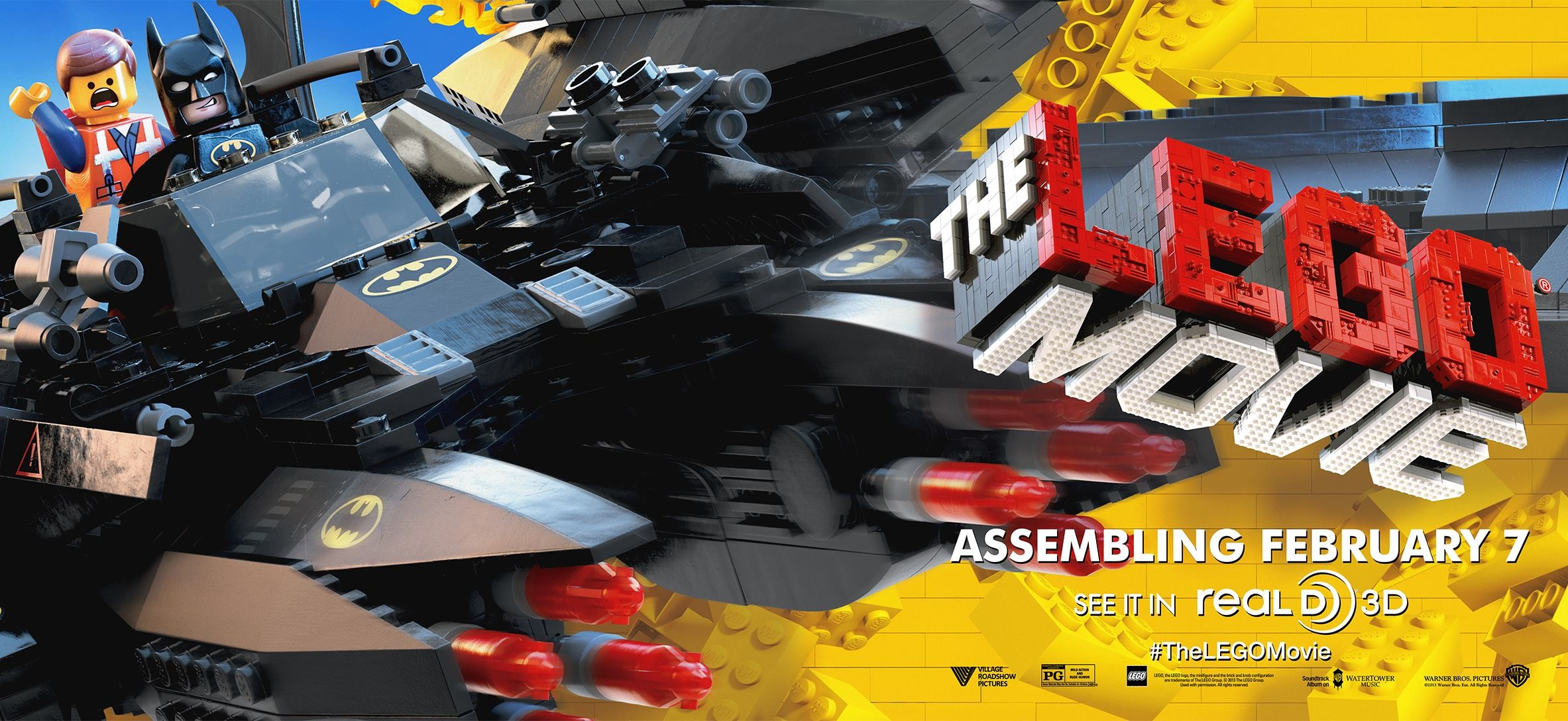 The Lego Movie-Official Poster Banner PROMO POSTER XXLG-06DEZEMBRO2013