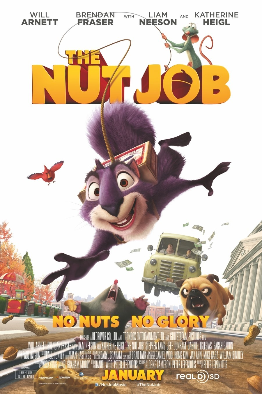 The Nut Job-Official Poster Banner PROMO POSTER XLG-16DEZEMBRO2013
