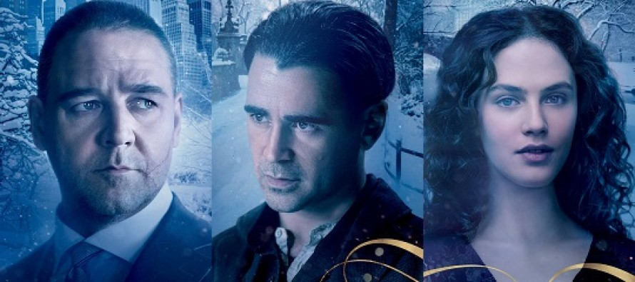 Colin Farrell, Jessica Brown Findlay e Russell Crowe nos CARTAZES da fantasia UM CONTO DO DESTINO