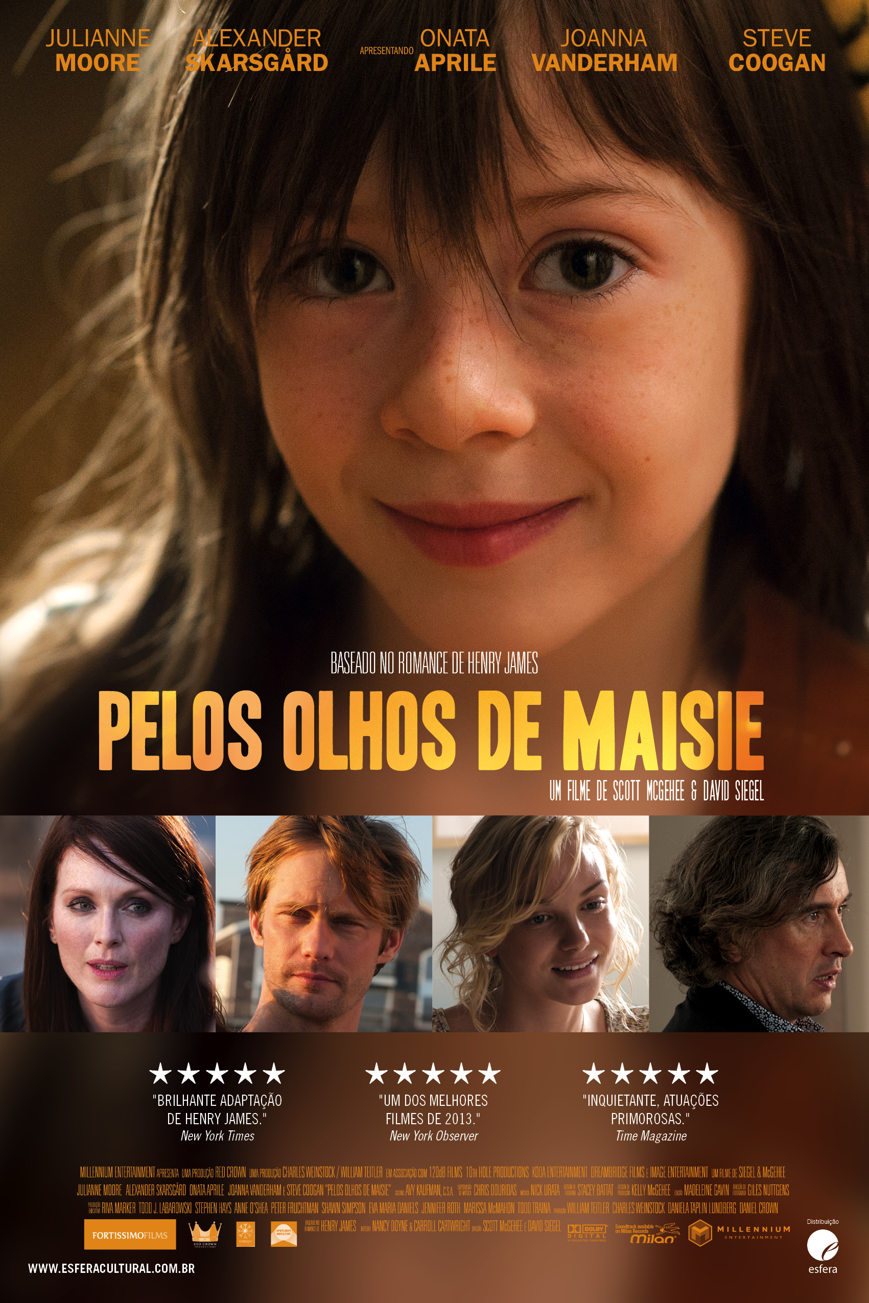 What Maisie Knew-Official Poster Banner PROMO POSTER NACIONAL-02DEZEMBRO2013