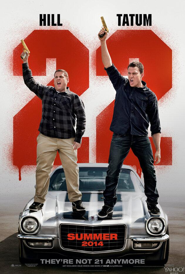 22 Jump Street-Official Poster Banner PROMO POSTER XLG-30JANEIRO2014