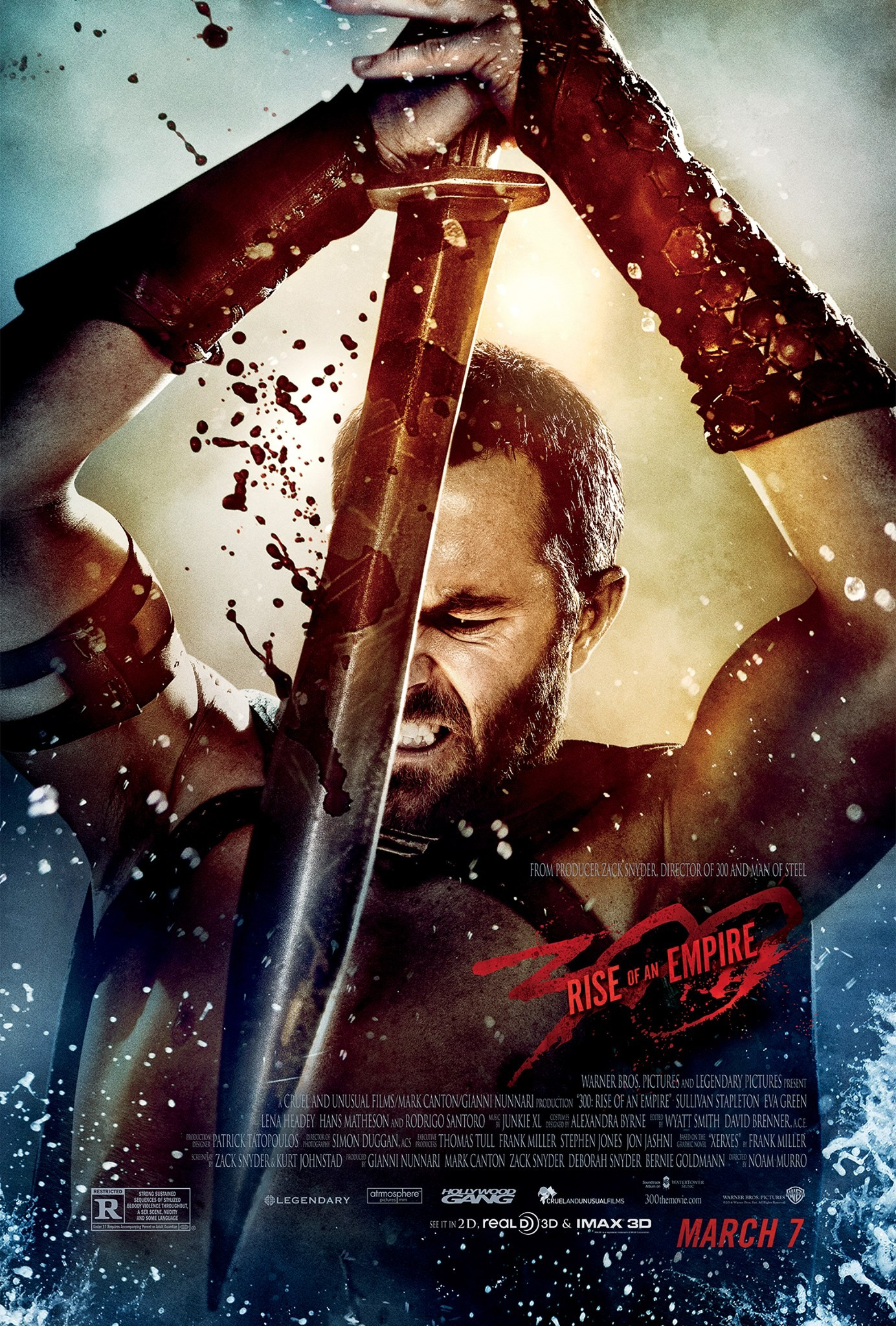 300 Rise of an Empire-Official Poster Banner PROMO CHAR XXLG-20JANEIRO2014-01