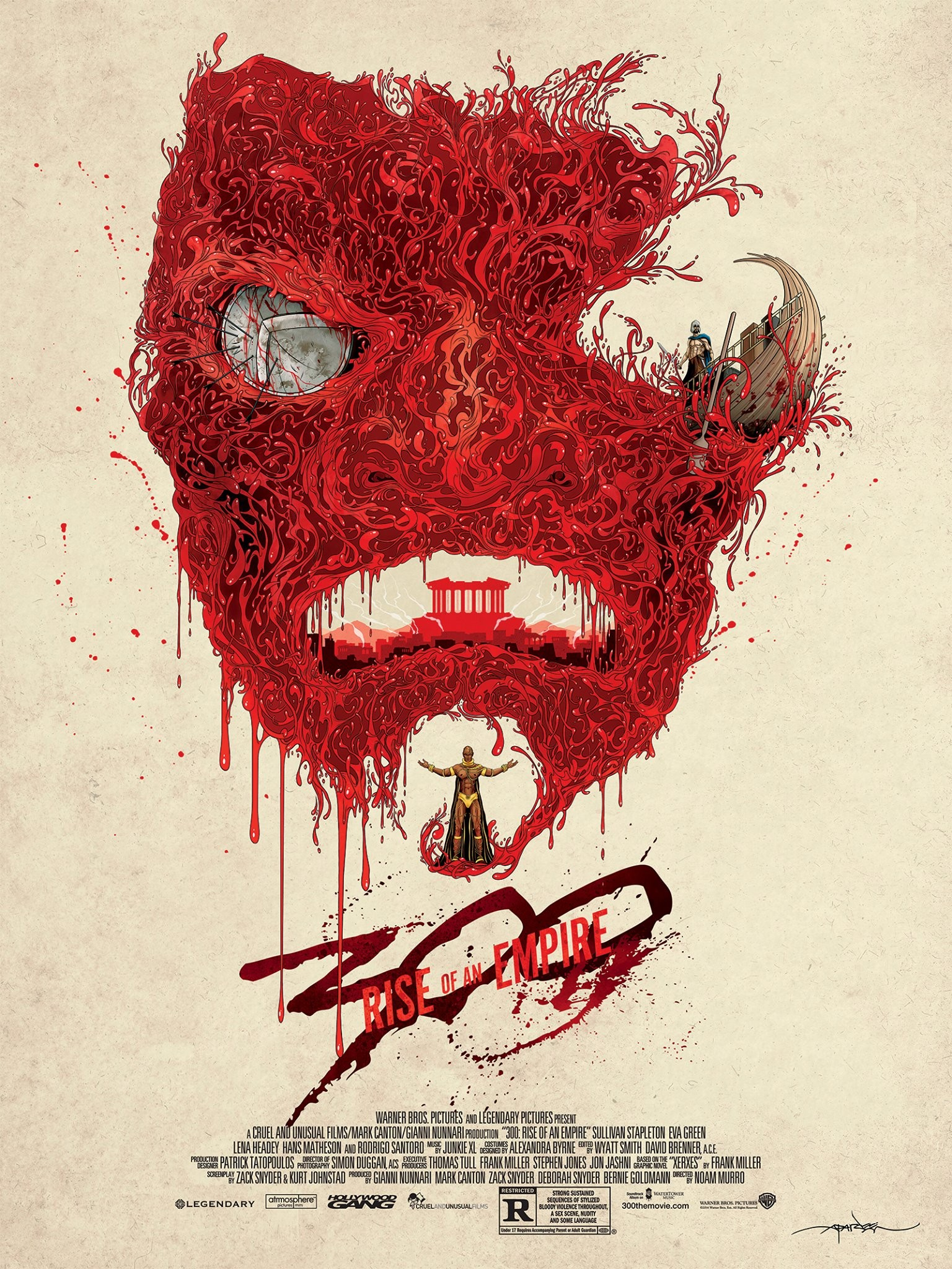 300 Rise of an Empire-Official Poster Banner PROMO POSTER XXLG-28JANEIRO2014