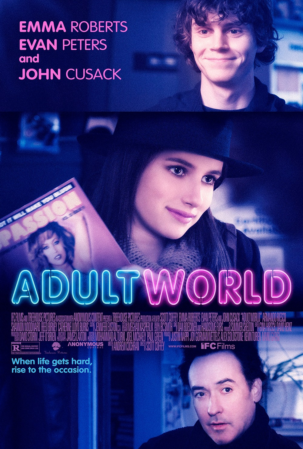 Adult World-Official Poster Banner PROMO POSTER XLRG-16JANEIRO2014