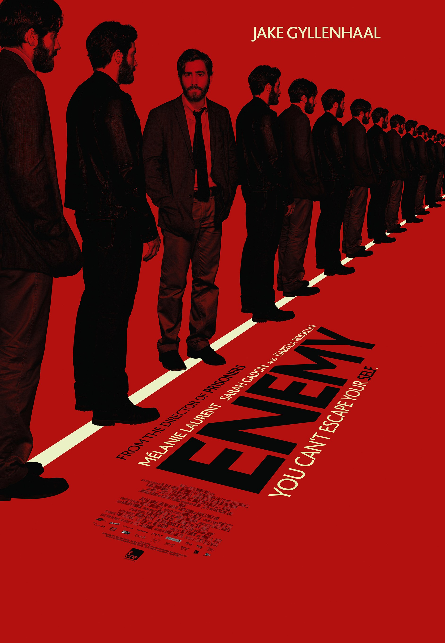 Enemy-Official Poster Banner PROMO POSTER-09JANEIRO2014