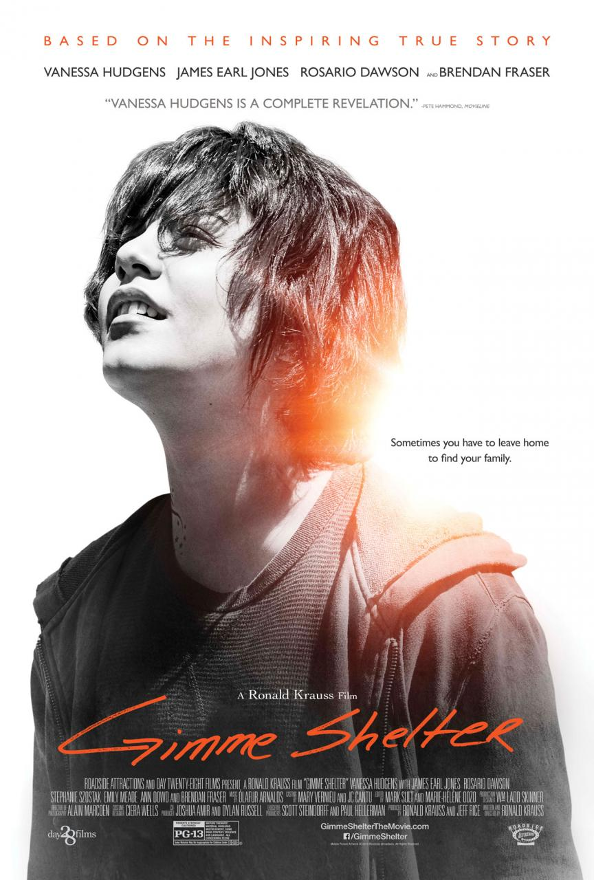 Gimme Shelter-Official Poster Banner PROMO POSTER-15JANEIRO2014